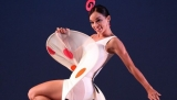 Prima ballerina Viengsay Valdes performed a Cuban favorite, the Muñecos, at this year's Tokyo Ballet Festival.
