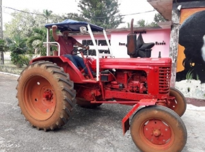 A tractor for the International Camp Julio Antonio Mella (CIJAM) - Keith Headland