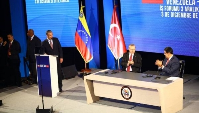 Turkey visits Venezuela for the first time to establish financial ties