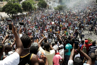 Haitians Take to the Streets to Denounce Foreign Interference
